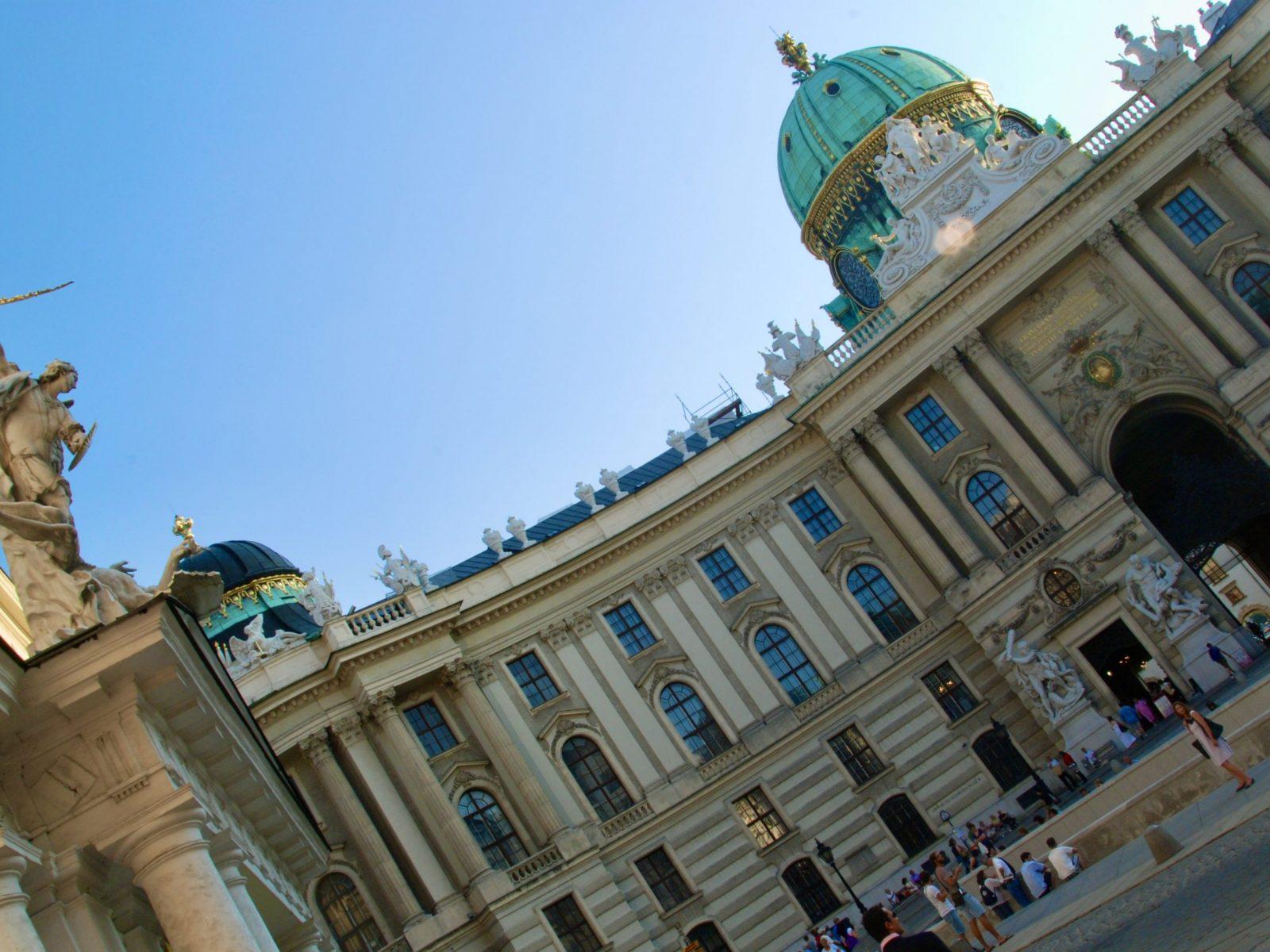 Michaelerplatz Hofburg
