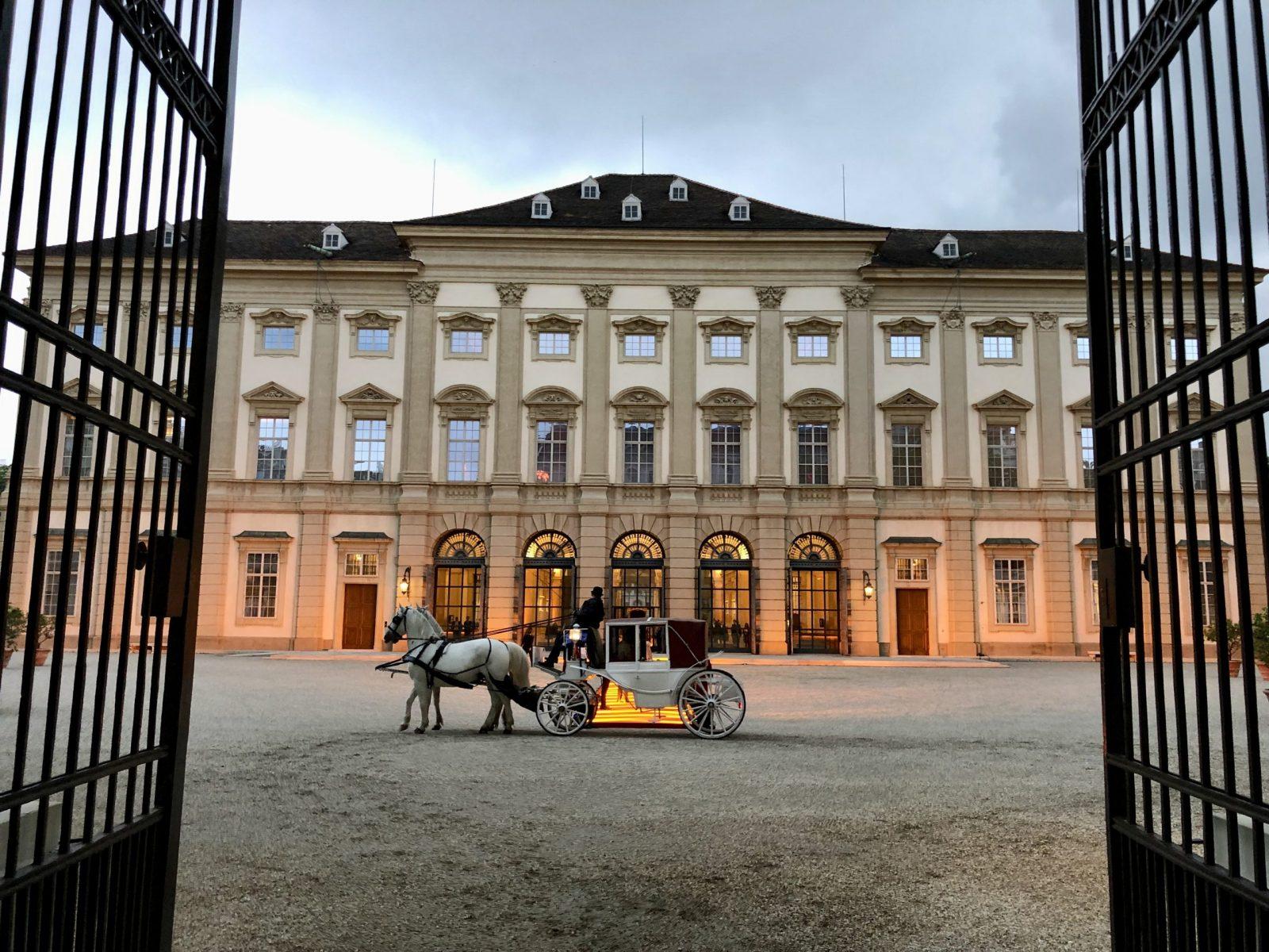 Gartenpalais Liechtenstein, Wien Rossau