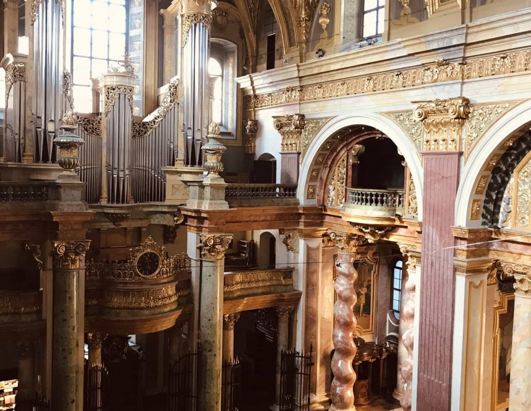 Jesuitenkirche Wien Orgel